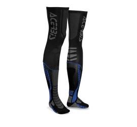 CALCETIN ACERBIS X-LEG PRO NEGRO/AZUL