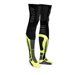 CALCETIN ACERBIS X-LEG PRO NEGRO/AMARILLO