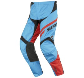 PANTALON SCOTT JUNIOR AZUL/NARANJA