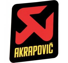ADHESIVOS AKRAPOVIC 95MM