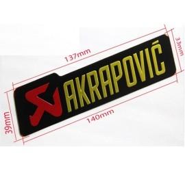 ADHESIVOS AKRAPOVIC
