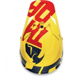 CASCO THOR SECTOR LEVEL AZUL/AMARILLO MATE