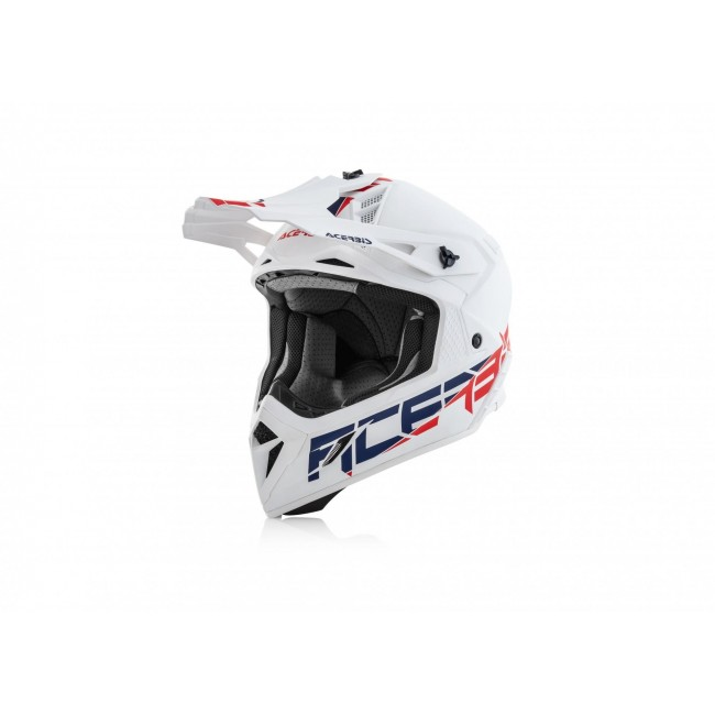 CASCO ACERBIS STEEL CARBON BLANCO