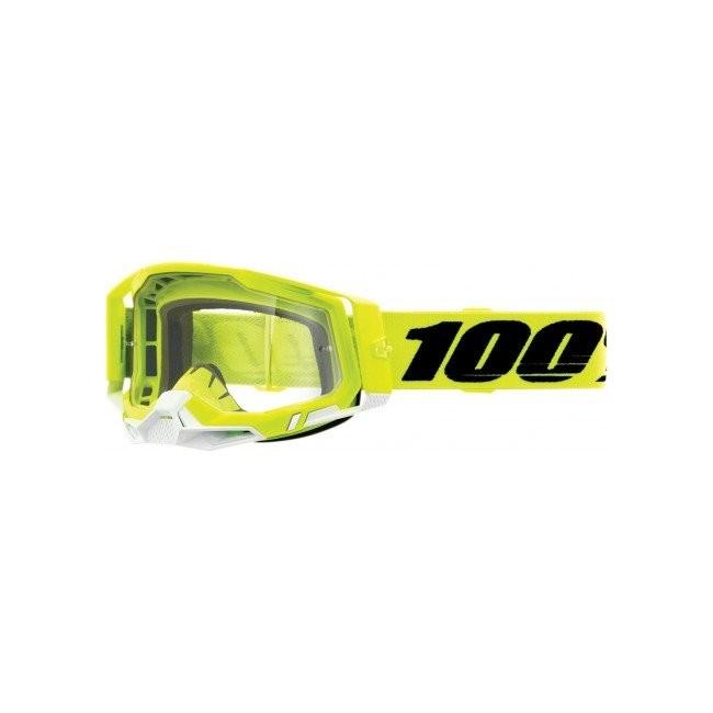 GAFAS 100% RACECRAFT 2 AMARILLO FLUOR