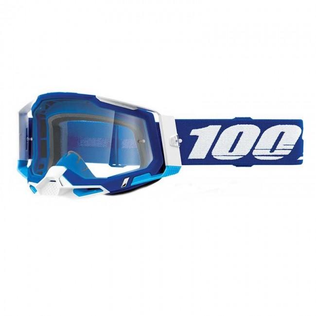 GAFAS 100% RACECRAFT 2 AZUL/BLANCO