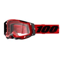 GAFAS 100% RACECRAFT 2 ROJA
