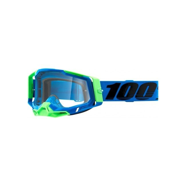 GAFAS 100% RACECRAFT 2 AZUL/VERDE