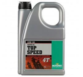 MOTOREX TOP SPEED 4T 15W/50 4L