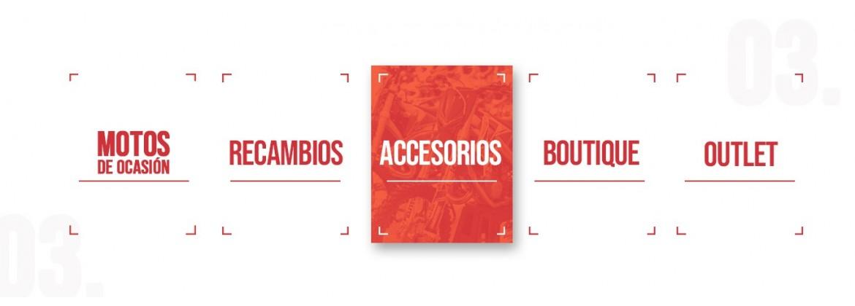 Accesorios para motos de motocross y enduro